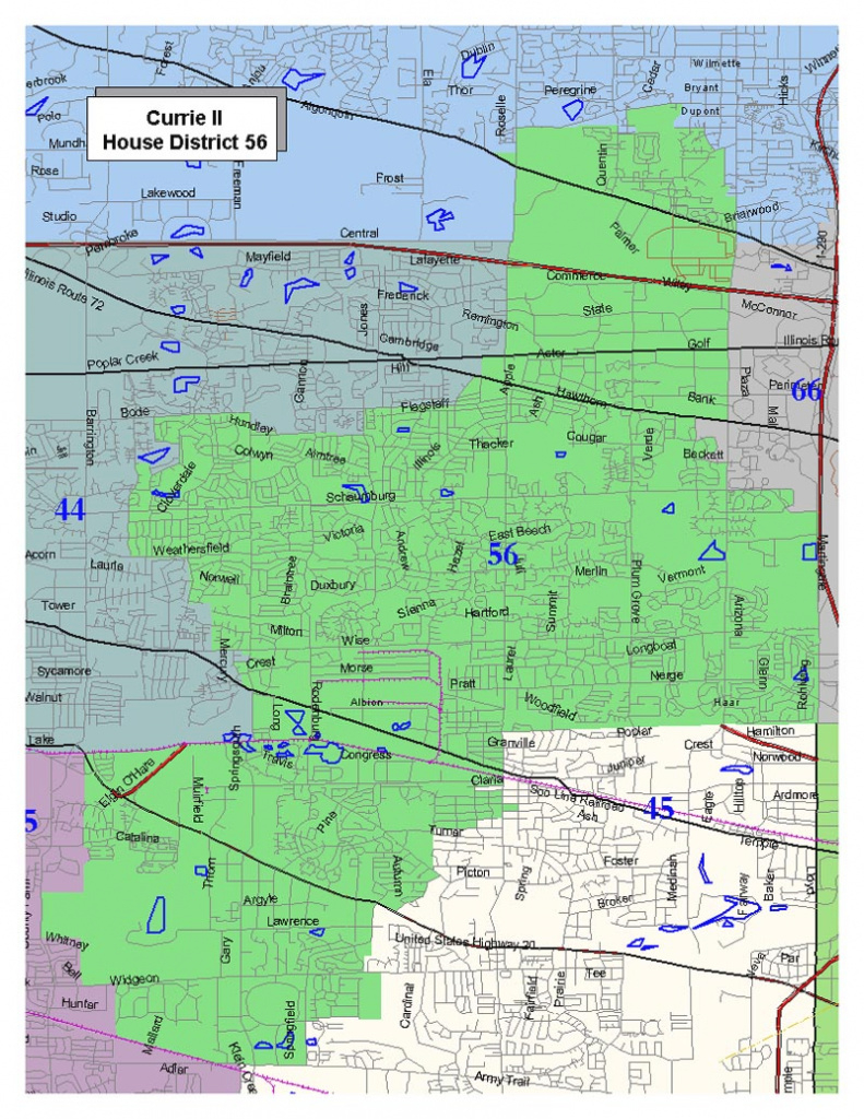 2011 Adopted Maps : Illinois Redistricting within Illinois State Representative District Map