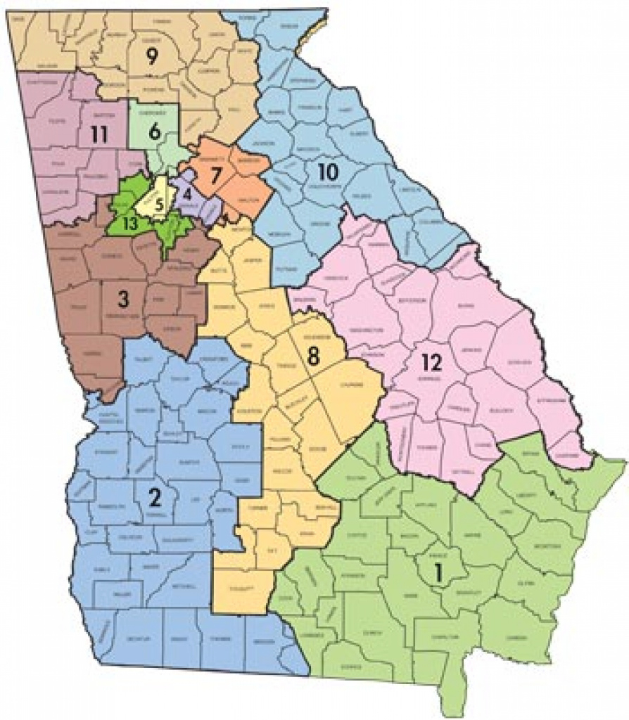 2012 Redistricting Maps And Reapportionment Information in Georgia State Senate District Map