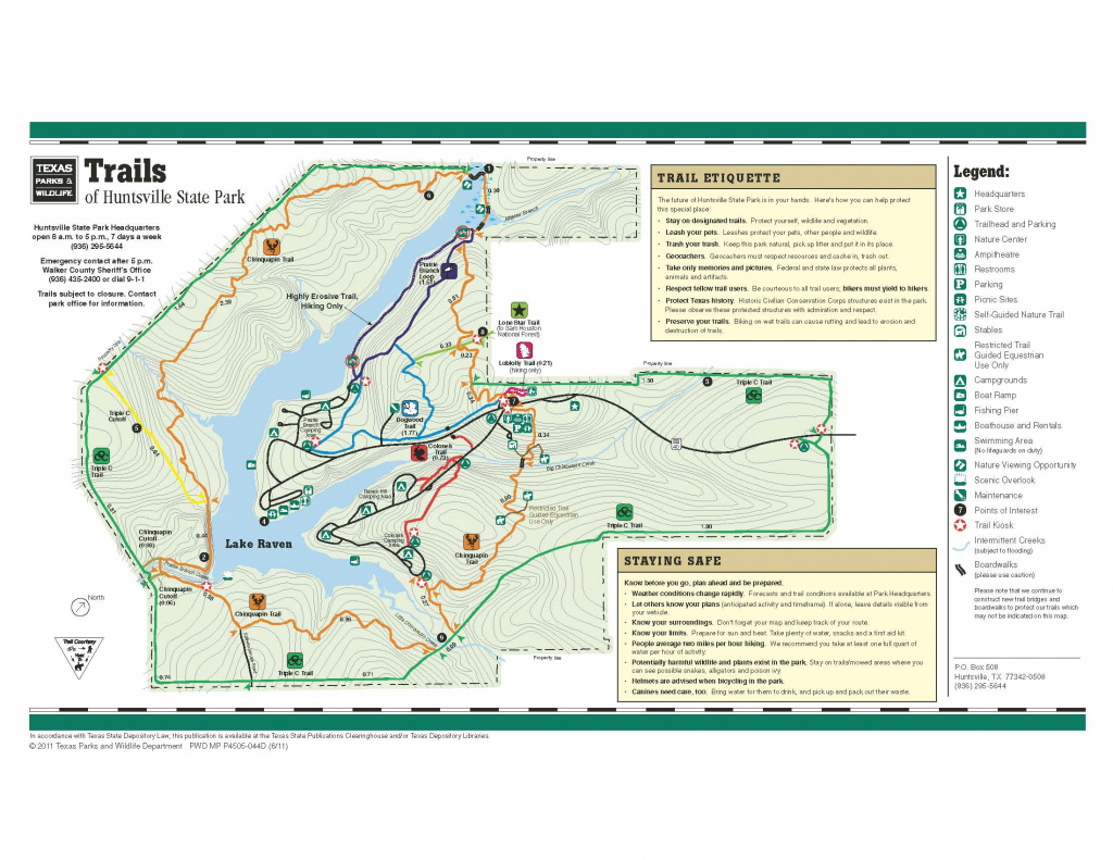 2012 | Swimful Thinking – A Site About Health And Wellness throughout Huntsville State Park Trail Map