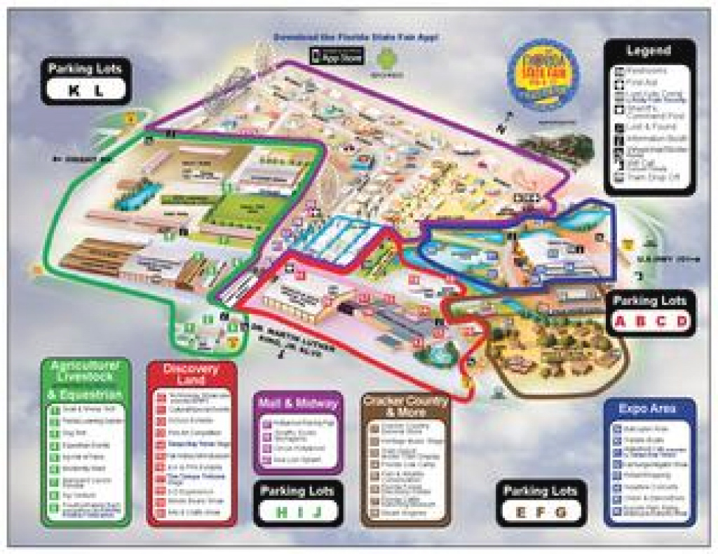 2014 Florida State Fair Mapwfla Newschannel8 - Issuu in Florida State Parking Map