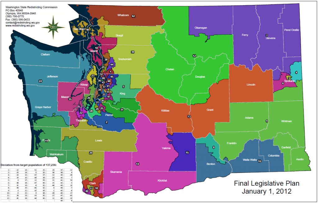 2015 Legislative Conference pertaining to Wa State Congressional Districts Map 2014