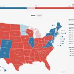 2016 Electoral Map And Presidential Election Results: Republican Pertaining To States Trump Won Map