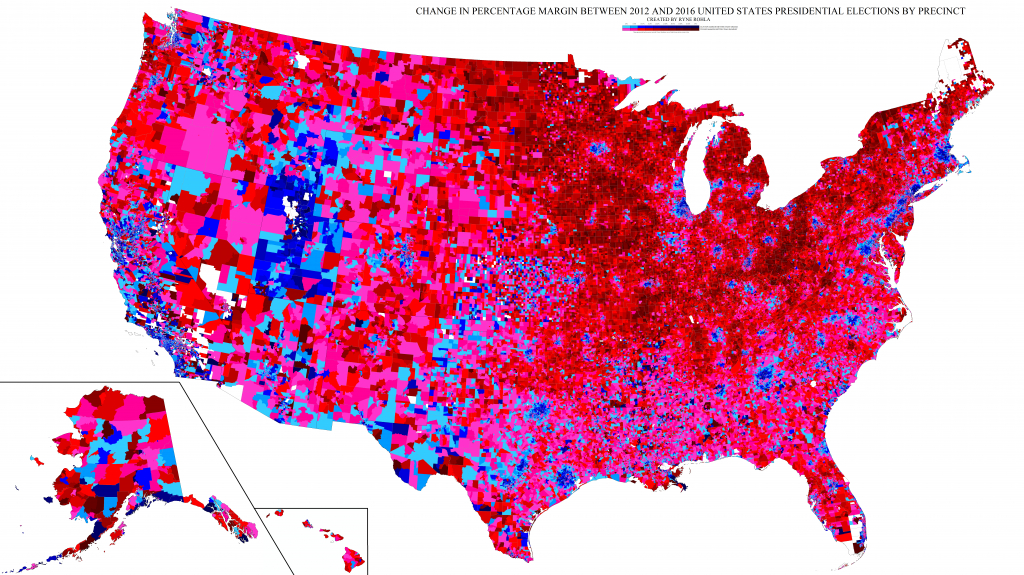 2016 Electoral Map: Trump, Clinton Voteprecinct - Business Insider intended for Washington State Presidential Election Map