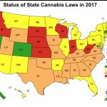 2017 Map Of Us State Cannabis Laws   Georgia Care Project Inside Legal Marijuana States Map 2017