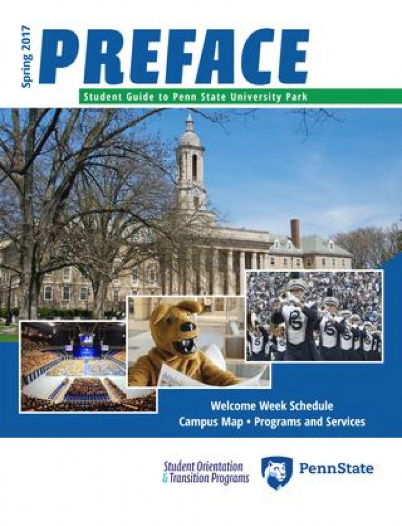 2017 Spring Prefacetown & Gown - Issuu regarding Hosler Building Penn State Map