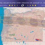 2017 Total Solar Eclipse In Oregon Intended For Eclipse Maps By State