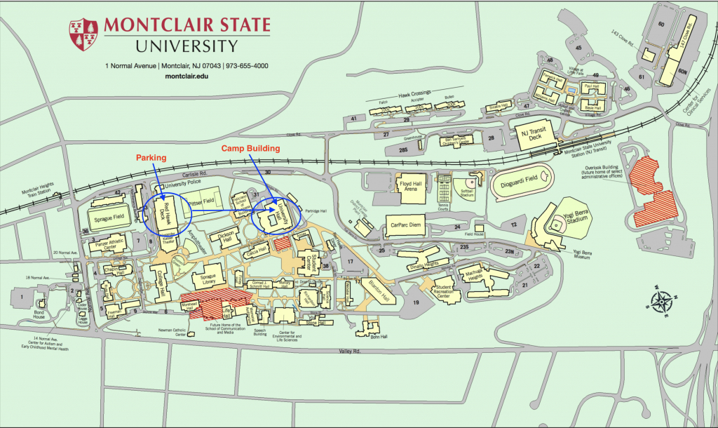 2018 Montclair Summer Camps, North Jersey | Lavner Camps! within Montclair State University Campus Map