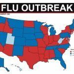 23 States Showing Widespread Flu Outbreaks   Abcactionnews Wfts Tv Throughout Washington State Flu Map
