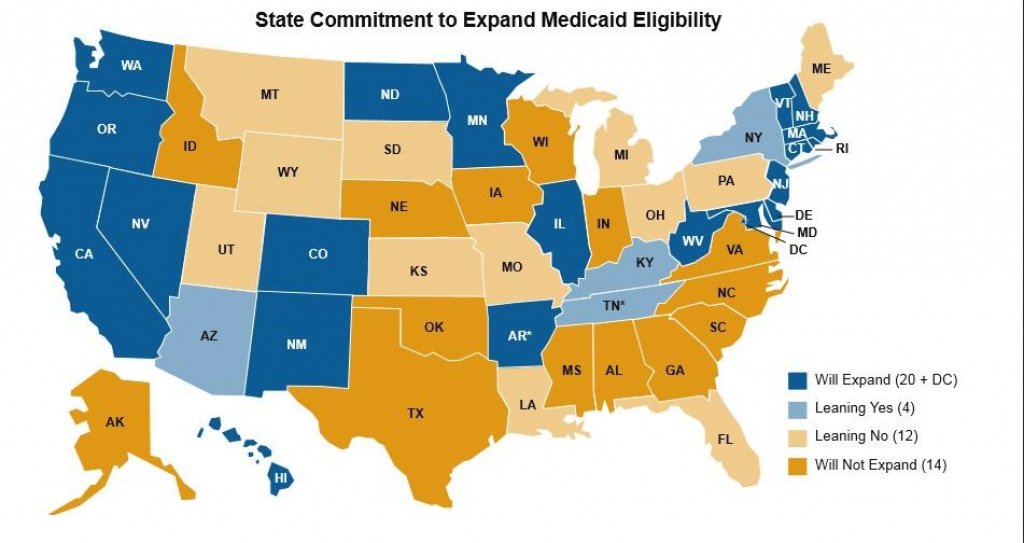 26 States May Reject Medicaid Expansion | Health News Florida with regard to Medicaid Expansion States Map