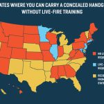 26 States Will Let You Carry A Concealed Gun Without Making Sure You Throughout Open Carry States Map 2017
