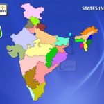 28 States Of India With Map   General Knowledge For Kids   Youtube Inside States Of India Map Game