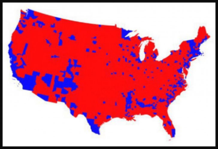 Map Of States Trump Won