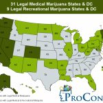 31 Legal Medical Marijuana States And Dc   Medical Marijuana Throughout Legal States For Weed Map
