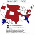 34 States Are Needed To Call An Article V Convention  Here Is A In Convention Of States Map