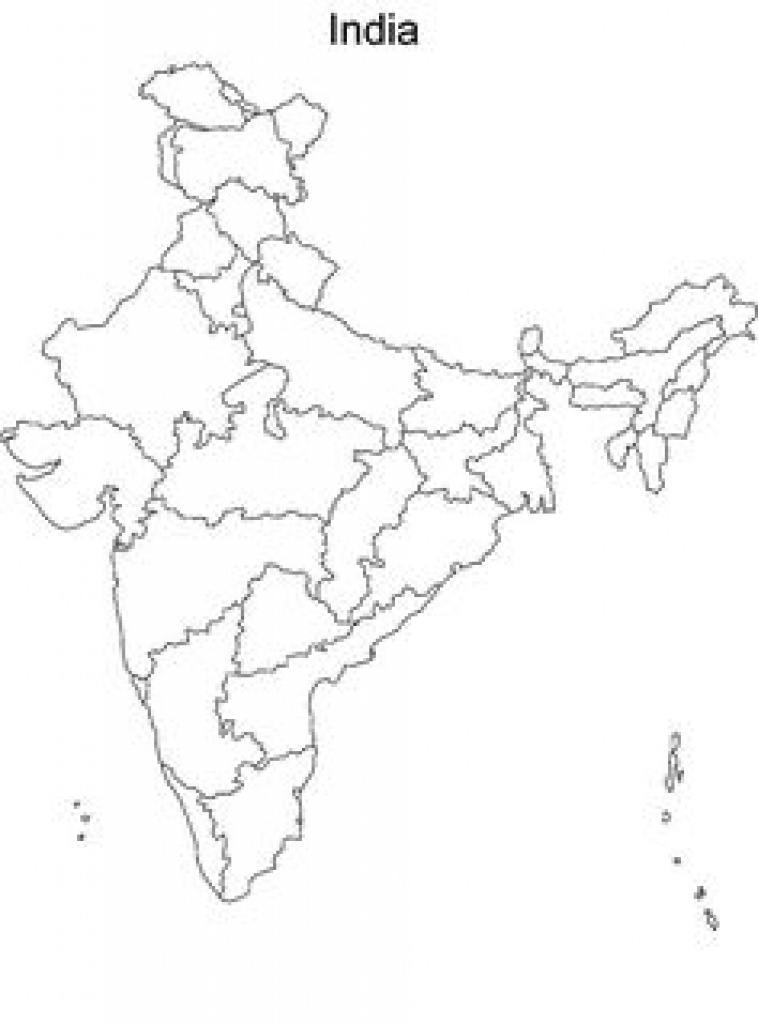 41 Best Map Of India With States Images On Pinterest | India Images inside India Blank Map With States Pdf