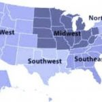 5 Regions Of The United States For Kids *** Throughout United States Map Divided Into 5 Regions