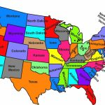 50 States And Capitals Map And Travel Information | Download Free 50 Pertaining To 50 States Map With Names