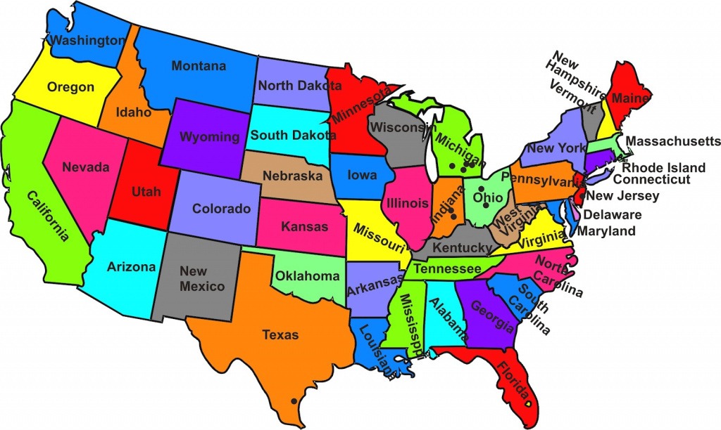 50 States And Capitals Map And Travel Information   Download Free 50 regarding 50 States Map With Capitals