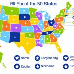 50 States And Capitals Map Game | World Maps In States And Capitals Map Game