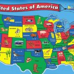 50 States Song For Kids | 50 States And Capitals For Children | Usa Throughout State Map For Kids