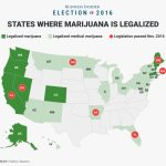 7 States That Legalized Marijuana On Election Day   Business Insider Throughout States Where Weed Is Legal Map 2016