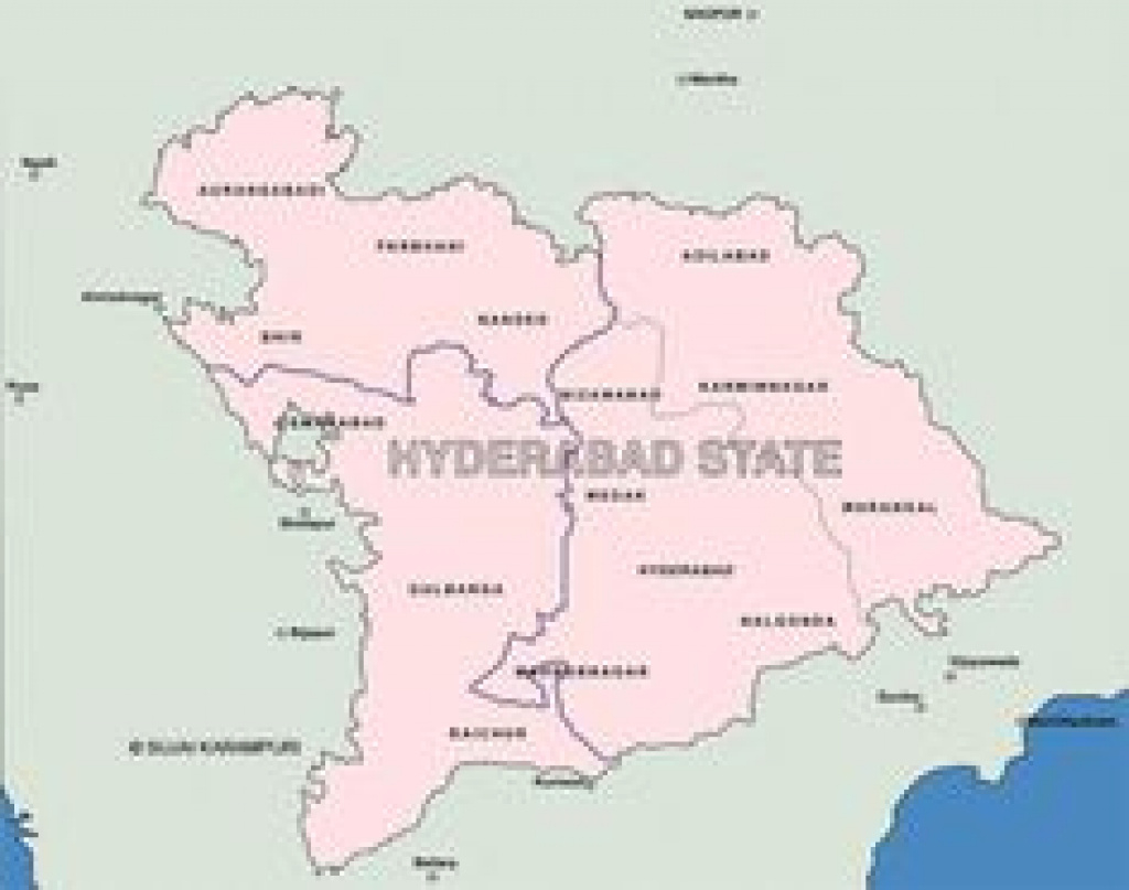 8 Best Indian Map Images On Pinterest | India Map, History Of India throughout Map Of Nizam State