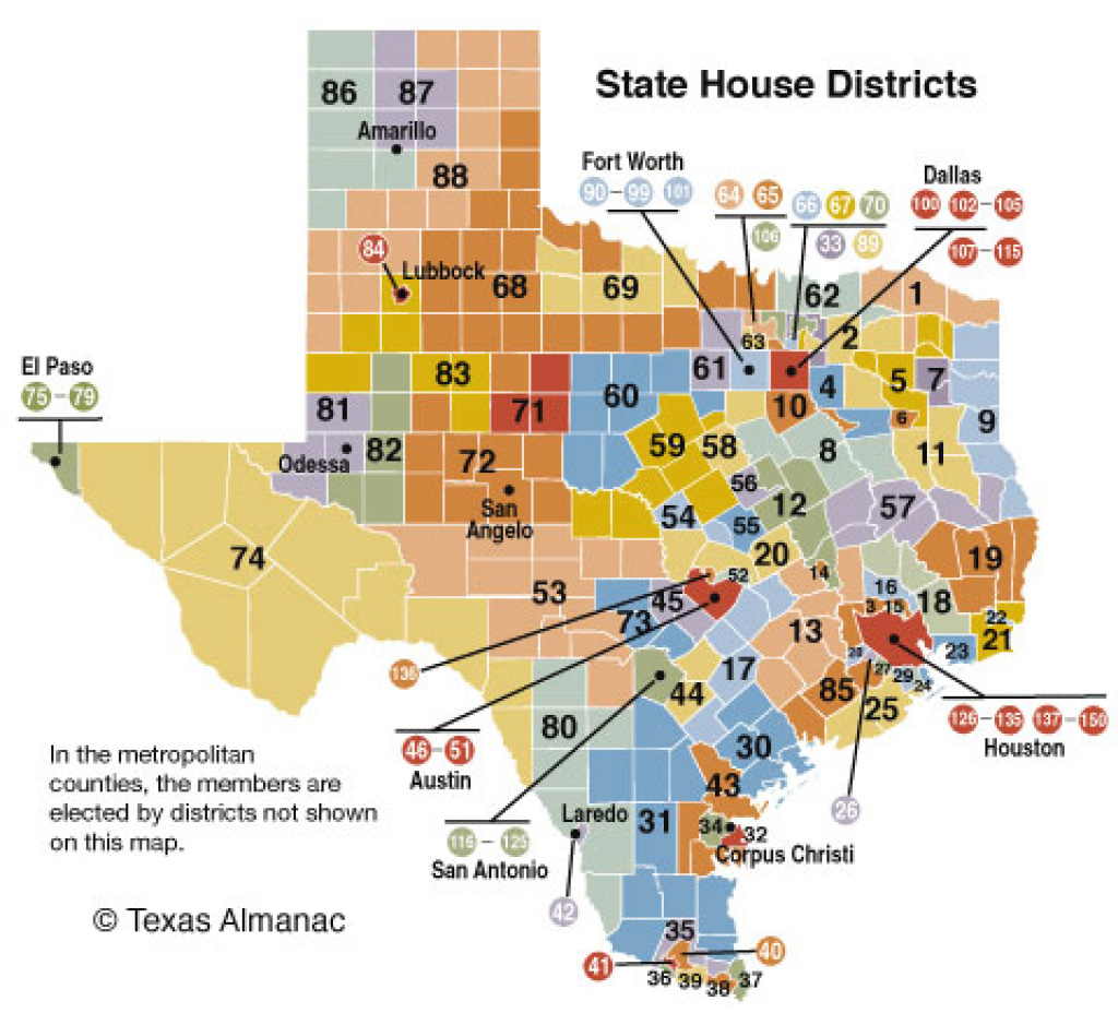 85Th Legislature House | Texas Almanac with regard to Texas State House District Map