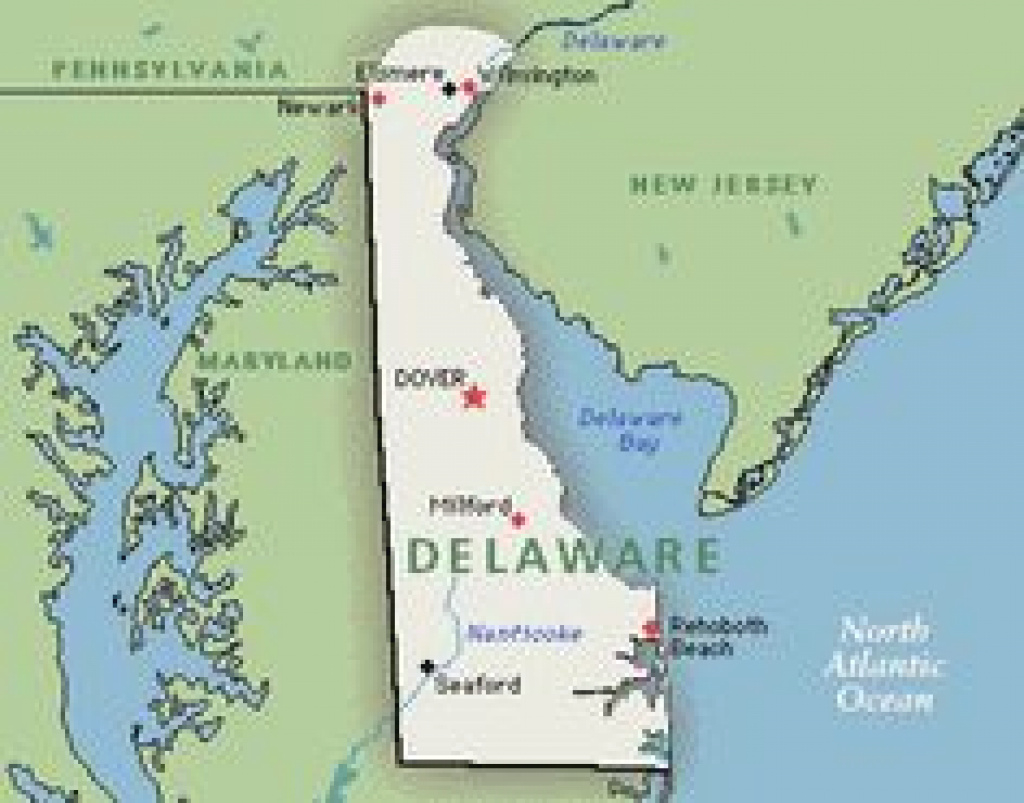 86 Best Delaware Images On Pinterest In 2018 | Paisajes, Rehoboth in Map Of Delaware And Surrounding States