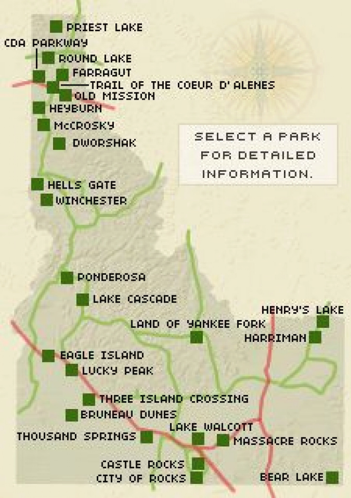 94 Best Idaho State Parks Images On Pinterest | National Parks with regard to Idaho State Parks Map