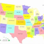 A Big Map Of The United States With Capitals   Etiforum Throughout A Big Picture Of The United States Map