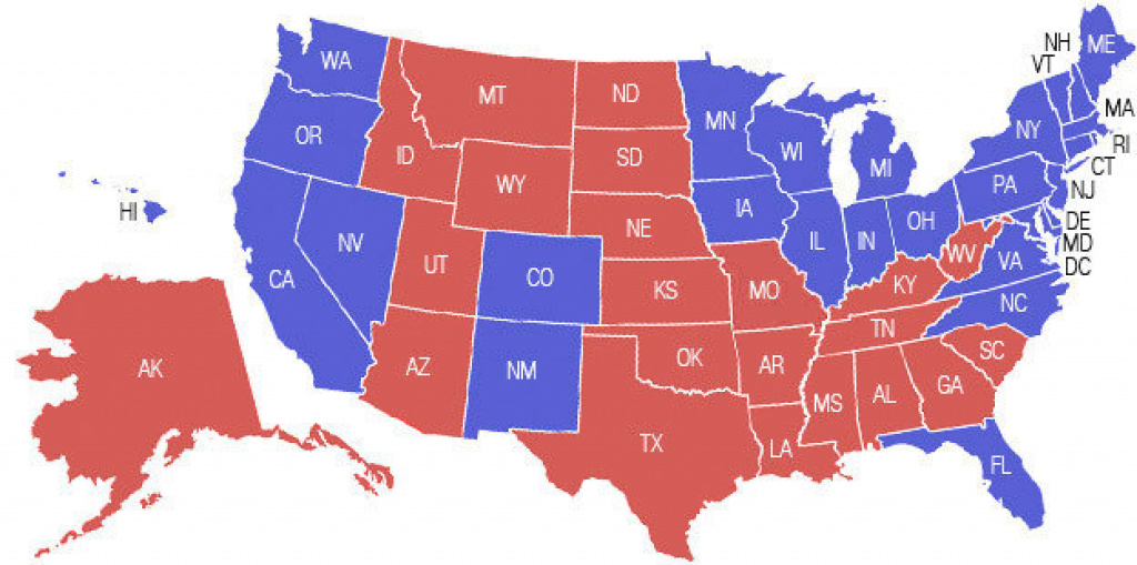 A Campaign Map, Morphedmoney : It's All Politics : Npr for 2016 Electoral Map By State