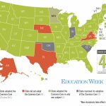 A 'common Core Math' Problem: How Many States Have Adopted The Inside What States Have I Been To Map