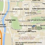 A Judgmental Map Of Ohio State University Regarding Ohio State Map Images