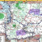 A Nice Detailed Map Of Washington State   Collection Of Map Pictures Within Detailed Road Map Of Washington State