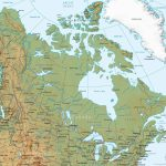 A Physical Map Of The United States Valid New The Us And Canada Within United States And Canada Physical Map