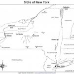 A Printable State Map pertaining to Printable Map Of New York State