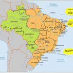 About The State Of Brazil, History, Geography, Landmarks, Borders With Map Of Brazil States And Cities