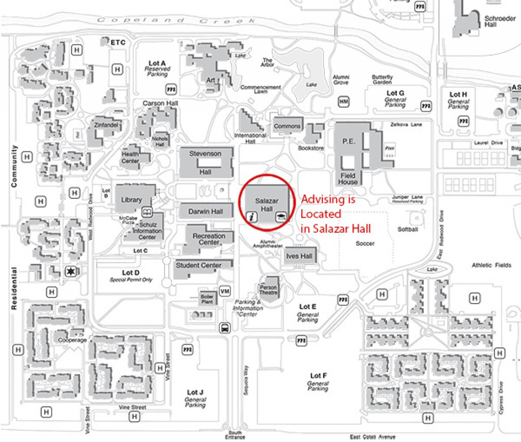 Advising Staff For Undeclared Students : Sonoma State University in Sonoma State University Housing Map