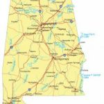 Alabama Maps And Atlases Inside Alabama State Map With Counties