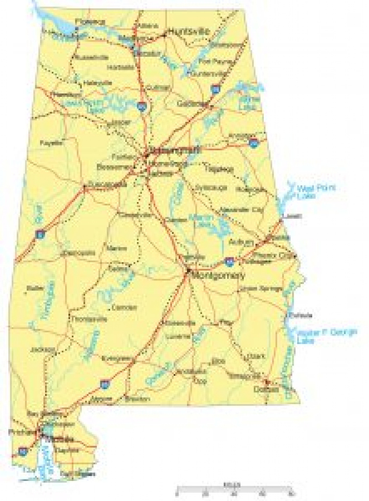 Alabama Maps And Atlases with Tennessee Alabama State Line Map