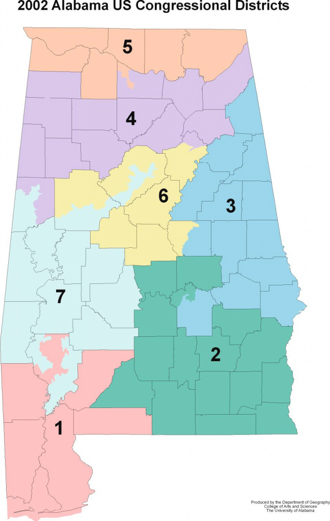 Alabama Maps - Politics throughout Alabama State Senate Map