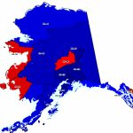 Alaska Maps Throughout Alaska State Senate District Map