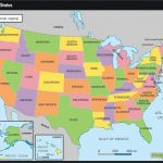 All The States Of America And Their Capitals   Etiforum Within United States Of America Map With Capitals