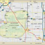 Allegan County Edc: Living Here: Allegan State Game Area In Allegan State Game Area Trail Map