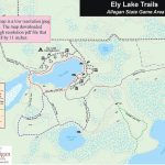 Allegan Sga: Ely Lake Trails With Allegan State Game Area Trail Map