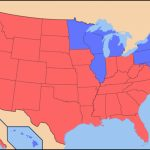 American Dialects: A Red State/blue State Divide? | Dialect Blog In Red State Blue State Map