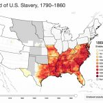 An Interactive Map Of Slavery  Mapping The Nation Blog For Map Of Slavery In The United States