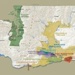 An Intro To Washington State Wines: My Great Trip To Woodinville With Regard To Washington State Wineries Map