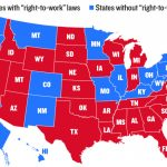 "Analysis: What ""Right To Work"" States Look Like 
