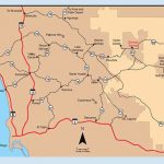 Anza Borrego Desert State Park Maps And Weather   Desertusa Within Anza Borrego Desert State Park Map Pdf